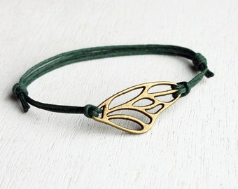 Wing Bracelet, Wing Anklet (many colors to choose)