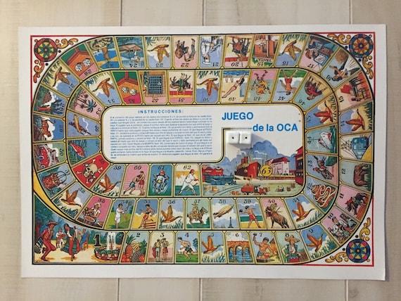 Mexican el juego de la oca game loteria - Juego de la oca ...