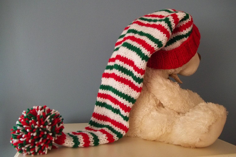 Long Knit Stocking Cap 32