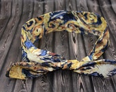 Dr Who Van Gogh Rockabilly Hair Scarf