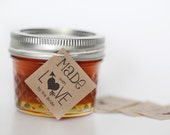 Made with Love - favor homemade jam jelly honey tags