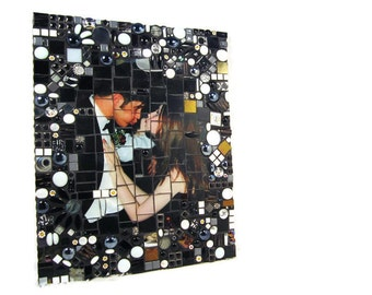 CUSTOM mosaic from your favorite photographs, wedding portraits, family photographs, casual photos