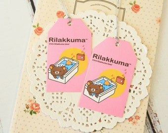 CHILL Cute Cartoon Rilakkuma & Friends Gift Tags