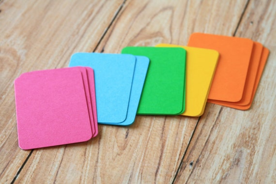 200pc VIBRANT Colours Eco Series Business Card Blanks