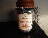 Vampire Ashes Apothecary Jar- Medium Pint