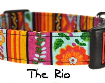 Multicolored Dog Collar - The Rio