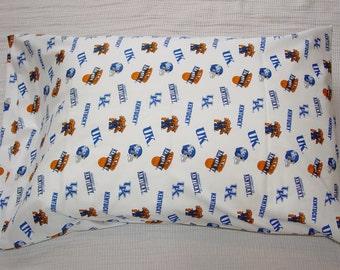 University of Kentucky-White Pillowcase