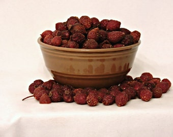 8 ounces Unscented Rose Hips, half pound, unscented, Potpourri, bowl filler, dried botanical, fall decor, dried rose hips, bulk rose hips