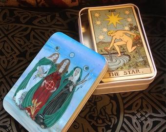 Tarot Tin Triple Goddess