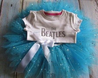 Beatles Tutu Outfit Ready To Ship Size 3T Beatles Tutu Beatles Outfit
