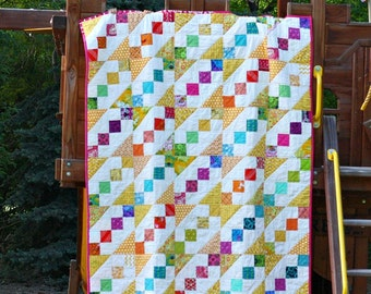 Recess Toddler or Lap Quilt