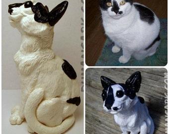 Custom Pet Sculpture Commission