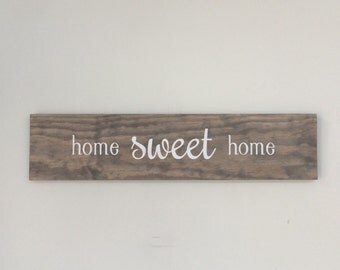 Wood Signs, Wedding Gift, Names,  Home Sweet Home, Wall Decor, Home Decor, Reclaimed Wood, Farmhouse, Barn, Woodwork, Living Room, Home