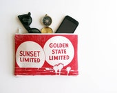 Zipper Pouch Golden State Sunset California Gifts Purse Made in Nashville USA Wholesale Red Accessories