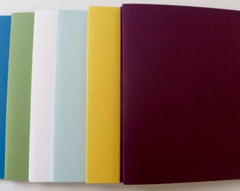 Blackberry Bliss SU! Color Collection Blank Cards 5 1/2 X 4 1/4