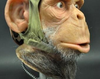 Ultra Realistic Ape Sculpture Prop- Smoken Joe