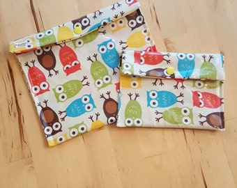 Reusable Sandwich and Snack Bags - Dozens of uses!