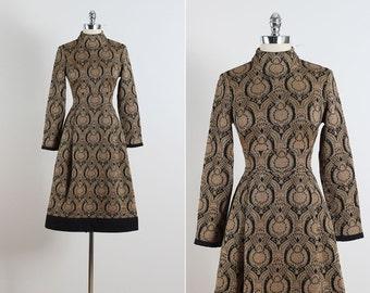 Barberini . vintage 1960s dress . vintage dress . 5517