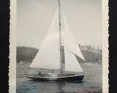 Vintage Photo - Sailboat