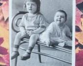 Postcard RPPC -  Little Darlings