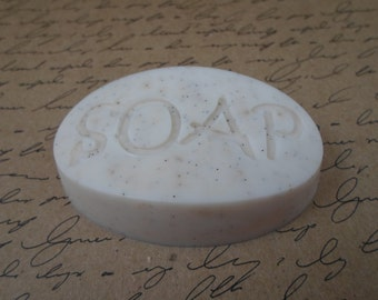 Vanilla Bean Soap | Goat's Milk S.O.A.P Bar | Guest Size Soap Bar | ONE Glycerin Soap | Hostess Gift Soap | Gift for Her | Travel Size Soap