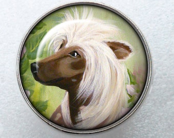 Chinese Crested Ring ~ Birthday Gift ~ Crested Owner ~ June Birthday ~ Cute Ring ~ Gifts For Her