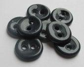 Dark Blue Ceramic Buttons