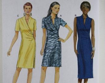 Butterick 5849, Misses' Dress Sewing Pattern, Misses' Patterns, Sewing Pattern, Misses' Size 6, 8, 10, 12, 14, New and Uncut