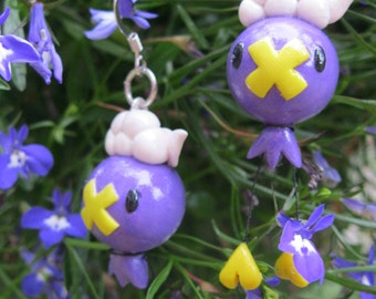 Pokemon Inspired Drifloon Earring Set