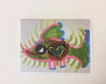 Magical Fish Card, Rainbow Fish