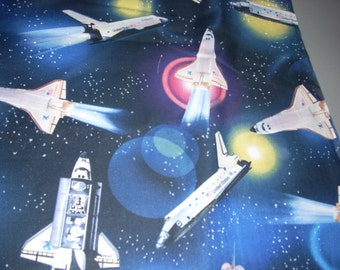 Shuttle columbia etsy for Space shuttle fabric