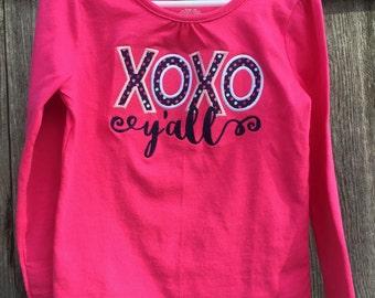 XOXO Y'all Shirt