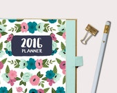 2016 Planner Daily Planner Printable Planner Daily Planner 2016 Daily Planner Printable Daily Planner Pages Floral