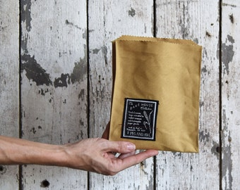 Bake House: No. 1 Pastry - Canvas Tote Bag, Reusable cotton tote, Market Bag, Sandwich Bag, Snack Bag, Pastry Bag, Hostess Gift, Gift