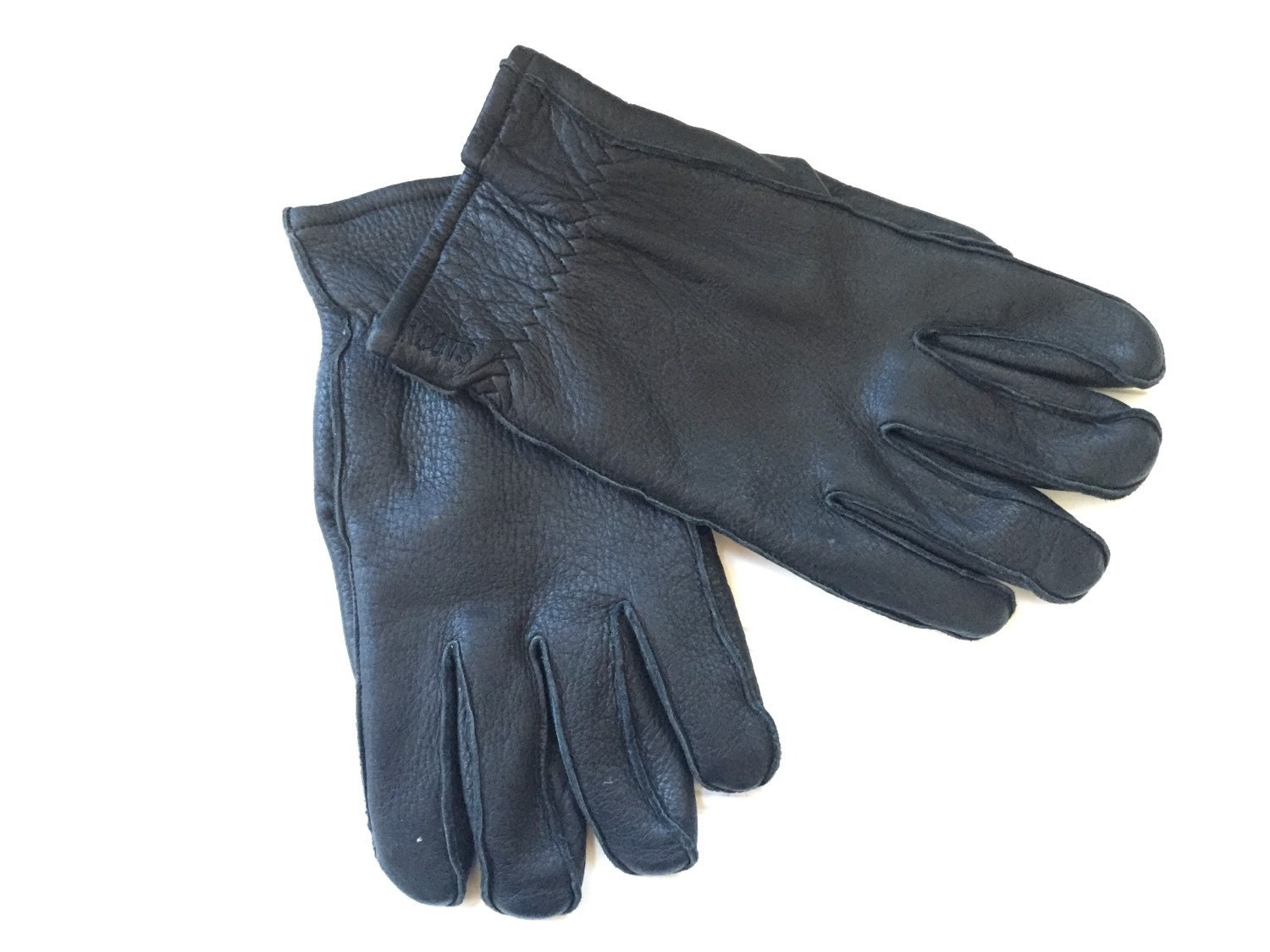 Driving gloves winter - Roots Leather Gloves Men Mens Winter Gloves Driving Gloves Fleece Lined