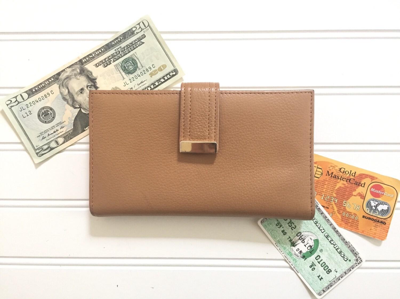 Ledger Card Holder : Danier leather wallet women card holder