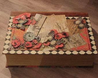 Poppy Wedding Keepsake Box