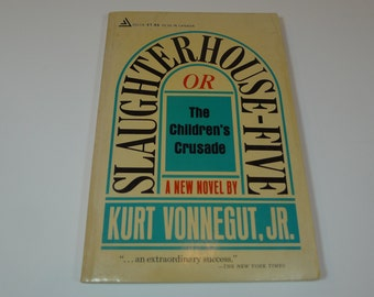 Vintage Slaughterhouse Five Book 1969 Paperback
