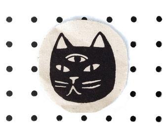 Three Eyed Cat Patch