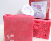 GARDEN SPA Soap - with aloe vera, milks, and silk - hp by Bonny Bubbles