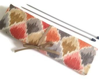 Needle Case Pockets Straight Single Point Knitting Needle Organizer