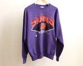 vintage men's PHOENIX SUNS cotton basketball 90s NBA sweatshirt