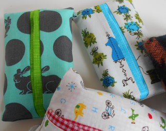 Pocket Tissue Holders - reusable fun gift Kleenex/travel/clean napkin shower/bridesmaid