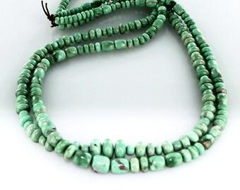 Variscite Beads Mixed Shape 4-8mm New World Gems