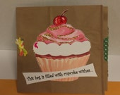 Exclusive Easy to Read Birthday Card with a Hidden Surprise Custom Handmade Design - FREE Shipping
