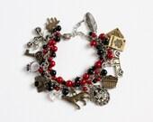 Twi-hard Charm Bracelet