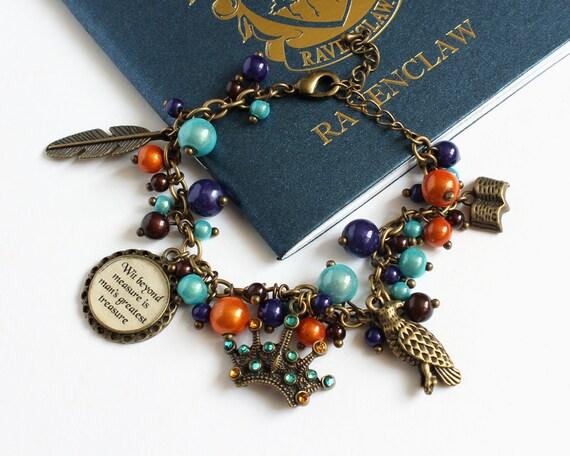 Charm Bracelet (Blue Eagle House) Bronze version