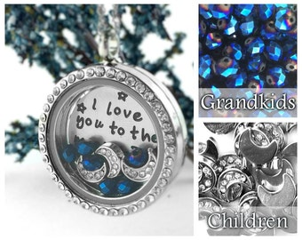 Grandmother Necklace - Personalized Grandma Gift - Grandma To Be Gift - New Grandma Gift - Grandmother Gifts - Sterling Silver Locket