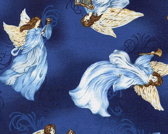 A Beautiful Place Angels Tossed - Fabriquilt - 1 yard - More Available - BTY