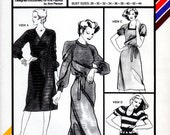 Uncut Stretch and Sew Pattern 1536 Raglan Chemise Tee Shirt Dress Tunic Top Retro 28-44 1979 Stretch n Sew Ann Person